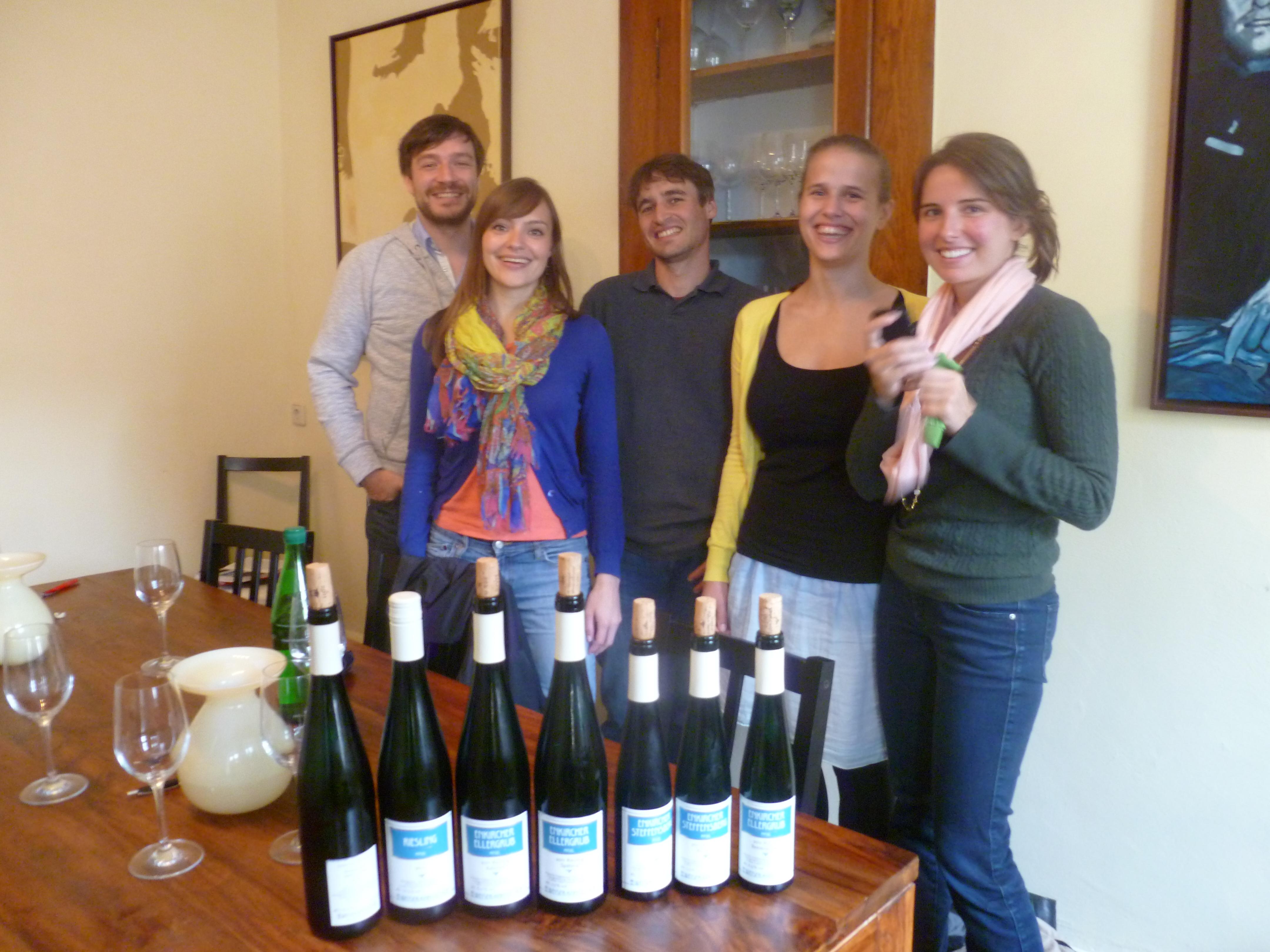 Meeting the vintners: Weingut Weiser-Künstler, Traben-Trarbach ...