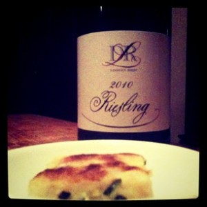 America's go to riesling with Korean pancake