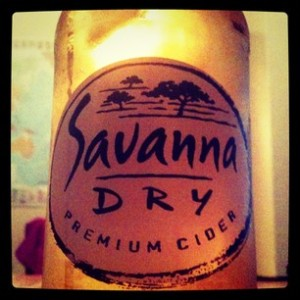 South African Savanna Dry Premium Cider
