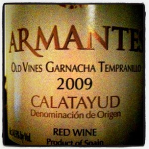 2009 Armantes Old Vine Calatayud DO