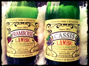 Lindemans Framboise and Cassis