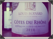 2010 Louis Bernard Cotes du Rhone