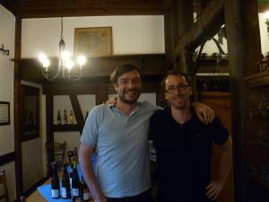Johannes and I.
