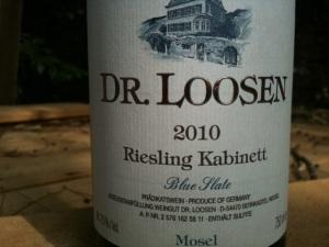 2010 Dr. Loosen Riesling Kabinett Blue Slate