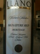 NV Llano Estacado Vintner's Selection Signature Red Meritage