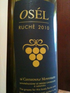 2010 Osél Ruchè di Castagnole Monferrato