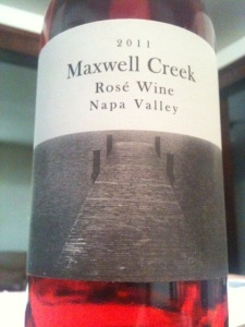2011 Maxwell Creek Rosé Wine Napa Valley