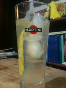 Martini my way: Al limone.