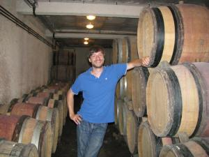 In the Mayor of Pommard's cellars, Summer 2010