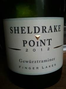 Sheldrake Point Vineyard 2012 Gewürztraminer