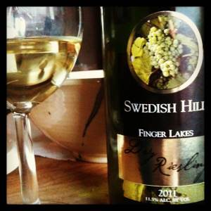 Swedish Hill Winery 2011 Dry Riesling