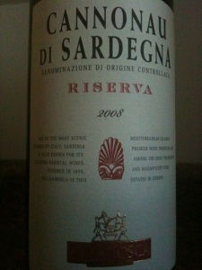 2008 Sella & Mosca Cannonau di Sardegna DOC