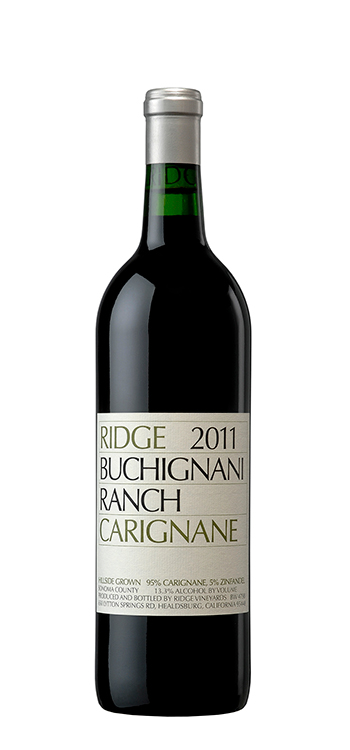 The label (Photo credit: www.ridgewine.com)