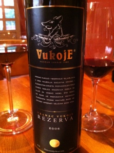 Vukoje Wine Bottle