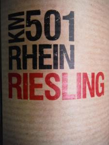 2011 KM501 Rhein Riesling