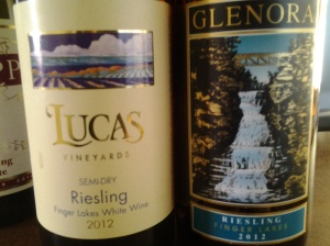 Finger Lakes Riesling Launch 2012 - The semi dry and semi sweet