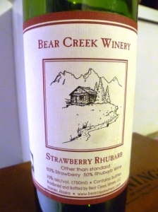 A fruit wine from Alaska...