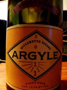 2011 Argyle Pinot Noir