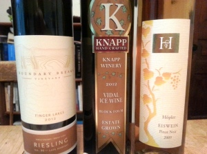 The three dessert wines participating