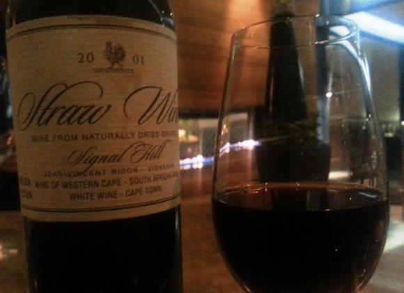 2001 Straw Wine