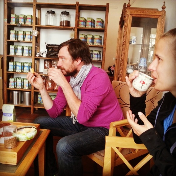 Rooibos Tasting at ZAR Tea Emporium