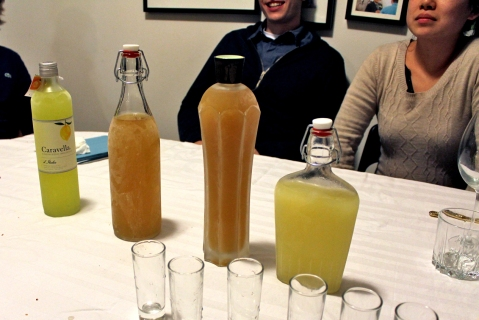 Limoncello Bottles