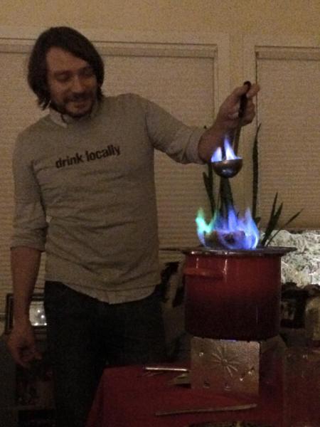 Feuerzangenbowle in Alaska 2014