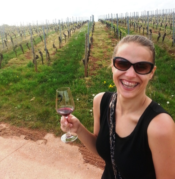 Drinking wines while hiking does have its perks. And even German reds can discolor your teeth.